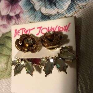 Betsy Johnson earrings NWT